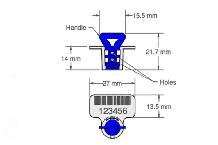 sello relocko de cable caracteristicas