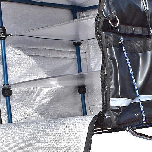 Interior mochila térmica