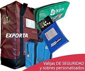 Valijas de seguridad y sobres personalizados