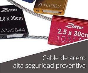 Sellos de seguridad de cable acerado