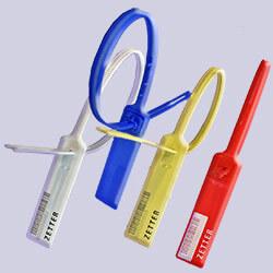 Colores disponibles de los cinchos de plástico.