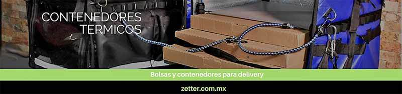 Bolsas y mochilas para entrega a domicilio. Modelo Apache