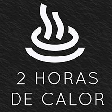 2 horas de calor super efectivo.