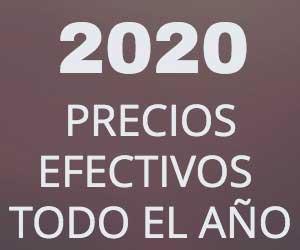 Precios efectivos todo el 2020