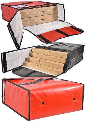Bolsas pizza 4 cajas
