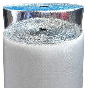 Aislante térmico Doble plateado y blanco con plateado