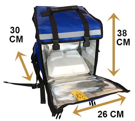 zapatos de separación c93ce f1653 Mochila Térmica Reparto | Bolsas y Mochilas para Alimentos.