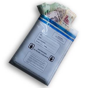 Bolsa de alta segurar para dinero